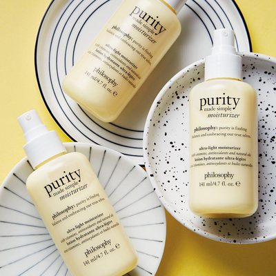 Just in time for summer, the new @lovephilosophy ® purity made simple moisturizer has arrived in all of its lightweight, glow-inducing glory 💛