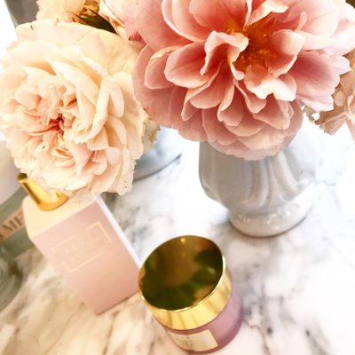 """My grandmother Estée always said """"you only have one face take care of it."""" Good skin starts with good skincare, love our #AERINbeauty Rose Essentials. Especially the night table cream and new Rose Water.."""