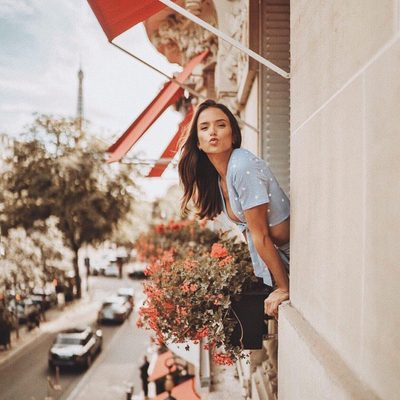 from paris with love ❤#revolvearoundtheworld @helenowen
