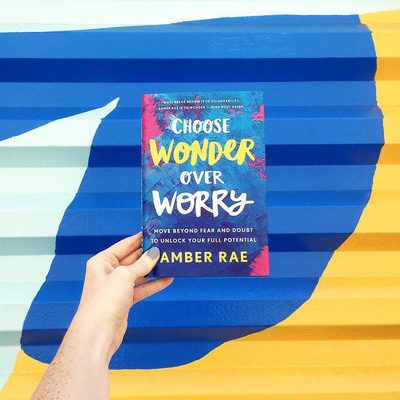 """📚Announcement and Giveaway📚 Our July #BirchboxBookClub pick is: Choose Wonder Over Worry by @heyamberrae. Amber is an artist and speaker who has been referred to as """"The @brenebrown of wonder"""" by @mindbodygreen. Her new book will help guide you past fear and into your full potential by providing inspiring anecdotes and interactive journaling prompts. ✨Want to win a signed copy?! Tag a friend below for your chance to win! ✨ Click link in bio to learn more about Amber & Choose Wonder Over Worry."""