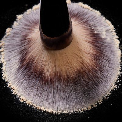 The softest and most versatile brush you could imagine. Our Veil Powder Brush contains the highest quality of synthetic Talkon bristles that will never lose shape. Tap to shop. #crueltyfree #hgcrueltyfree #vegan #hourglasscosmetics