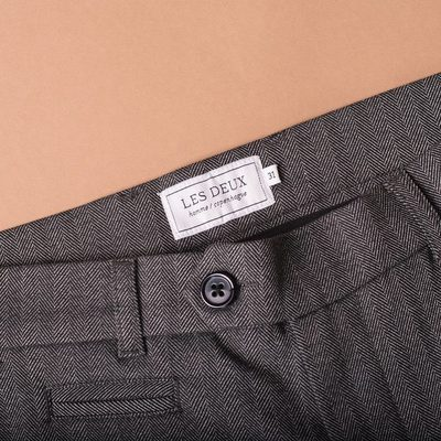 Our popular Malus Suit pants are  designed to fit perfectly on anyone.�They have our well-known fit from our legendary Como suit pants however they are created with this seasons trends. #lesdeux #suitpants