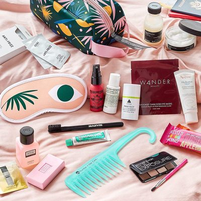Our new Travel-Ready Treasures Limited Edition Bag just landed in the Shop ✈️. It's packed (literally, so you don't have to) with portable products to give your routine the first class treatment. Tap the link in bio to get yours!