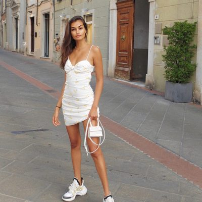 Amore @giizeleoliveira in the Ashland Tank Dress 💕