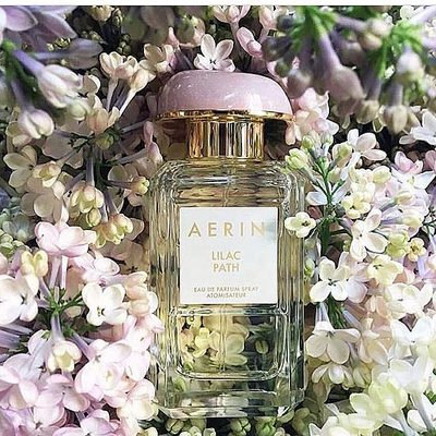 One of my favorite summer scents Lilac Path... Inspired by a lilac bush planted by my Grandmother many years ago... #AERINBeauty