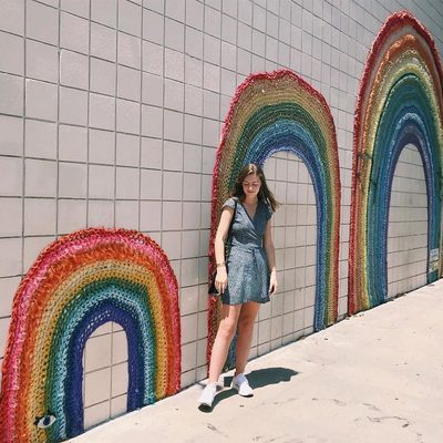 Over the rainbow, under the rainbow, next to the rainbow... | Photo by Community Member: @tunesandtunics
