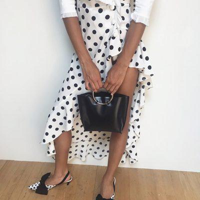 Dot dot dot...The Lexington Maxi Dress @jamealynee 🌹