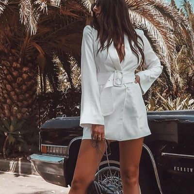 Ride or die. @samiraradmehr in the Your Time is Up dress.
