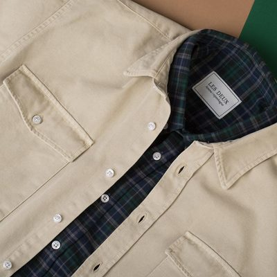 You can never have to many overshirts. #lesdeux #overshirt