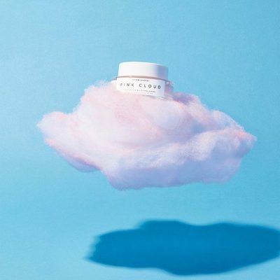 Back in stock on Herbivore.com today! Pink Cloud Moisture Creme, for the soothing + lightweight rose water hydration you want this summer. 🌹💦☺️#pinkcloudcreme