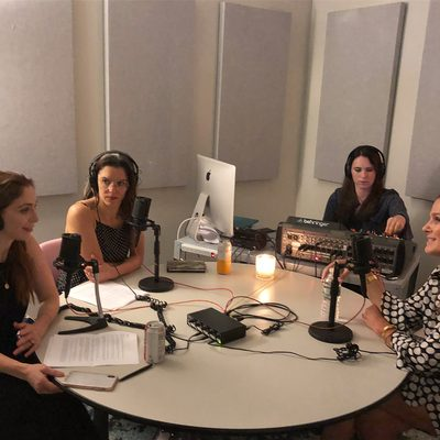 Had a great time recording my first podcast for @fatmascara. Listen to my Q&A with @jessicamatlin and @jenn_edit to hear more about Estée, my years at @esteelaudercompanies and the inspiration behind #AERIN. Link in bio.