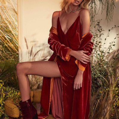 Step up your dress game. The Nadine Velvet Maxi Dress & Coat 🥀