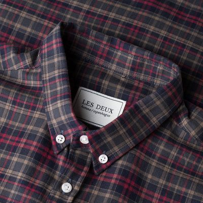 The flannel season is coming – #lesdeux #shirt