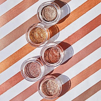 #ScatteredLight is a weightless refined glitter eyeshadow infused with light-reflecting pearls to create high impact, sparkling eyes. Available in 5 shades. #hgcrueltyfree #hourglasscosmetics