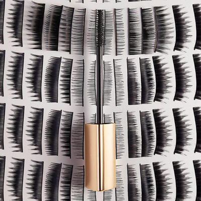 Put down the fake lashes and grab our new #CautionMascara for 400% more volume in a single stroke, continuous length, and sky high lift. #UseCaution #hgcrueltyfree #vegan #hourglasscosmetics