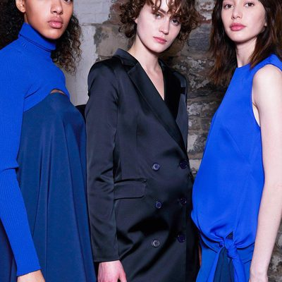 BLUES BABY 💙🌀 #NYFW #FALL18 #MILLYchromatic