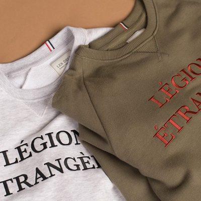 Légion Sweatshirt is a basic crewneck, made of cotton for a soft feeling. #lesdeux #lesdeuxcopenhagen #sweatshirt