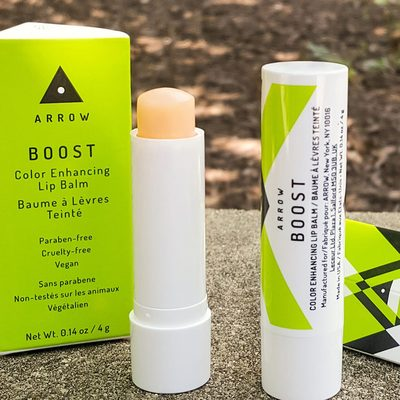 """""""I love everything about this product. It's hydrating without feeling sticky and it creates a really nice shine and subtle color. Plus, the scent (nor the taste) is overpowering."""" - Birchbox customer Kimberly's review of ARROW BOOST Color Enhancing Lip Balm 📷  and 💁: @rachelhornstein"""