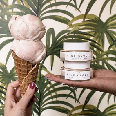 Summer might be almost over but we have some good news: Pink Cloud Ice Cream is here through the end of the month!🍦😋🥥🌹☁️We partnered with our favorite local Seattle Vegan Ice Cream makers @Frankieandjos to create this limited edition treat with decadent flavors of Coconut Milk, Rose, Cardamom and Toasted Coconut. Not in Seattle?  @Frankieandjos ships nationwide.👌 Purchase this special treat, take a photo and tag #pinkcloudicecream to enter to win $200 of Herbivore products. 😋🍦