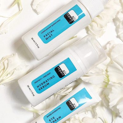 💧💧💧 Face the day with this triple threat of moisture from @air_repairskin. 📸: birchbox Customer @milynaffit