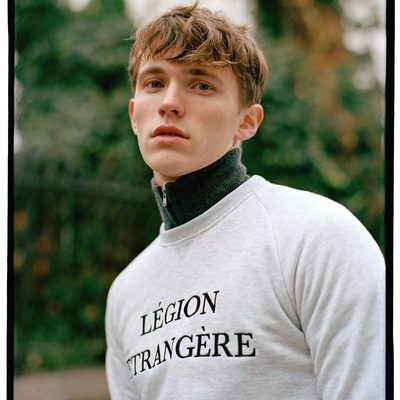"""""""Légion Étrangère"""" - The French Foreign Legion.  A symbol of diversity and discipline - two values that we implement to our daily endeavours. #lesdeux #sweatshirt"""