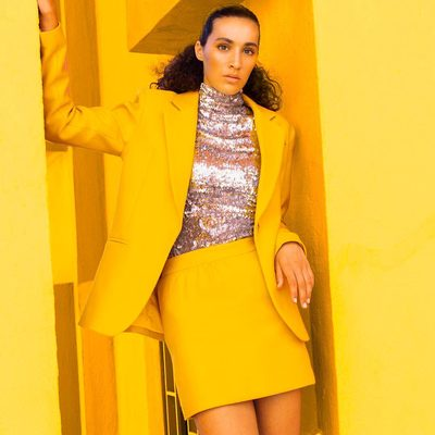 YELLOW IS THE COLOR OF OPTIMISM ❤ Check out our yellow shop in bio! 💛#MILLYchromatic #fall18 #MILLYmoment #yellow
