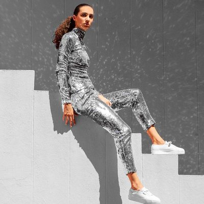 SILVER IS THE COLOR OF ILLUMINATION! #fall18 #chromatic #metallic #silver