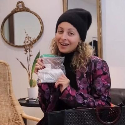 ever wonder what @nicolerichie carries in her bag? us too. head to our stories to watch the full video & click link in bio to shop all the NEW #hohxrevolve bags now available on revolve.com 👜