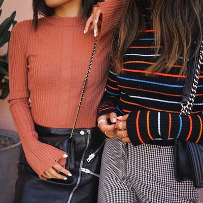 a couple of our favorite knit picks from @nude_fashion 💕 link in bio to shop the collection