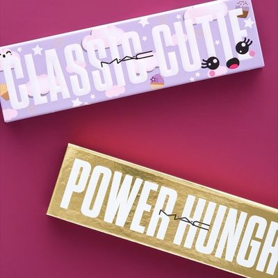 """Ready to throw some shade? (In a good way.) These @maccosmetics shadow palettes feature eight shadows in a range of finishes (matte, highlighter, shimmer). There's """"Power Hungry"""" (warm nudes) and """"Classic Cute"""" (cool lilac tones) that just may become your new faves. Which one catches your eye?"""
