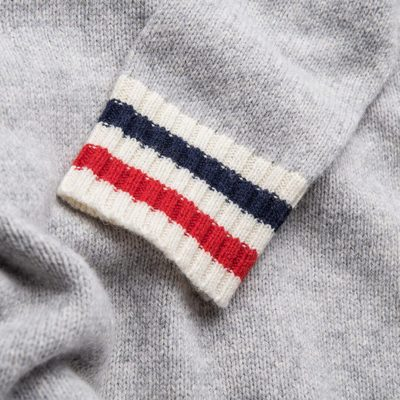French Lambswool Jumper coming up this week. #lesdeux #knitwear #tricolour