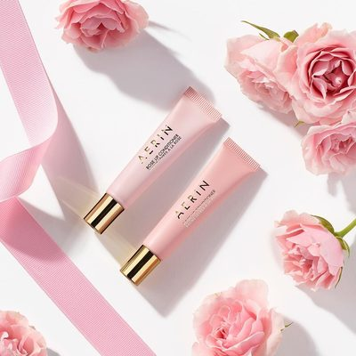 Think pink and support breast cancer research. Featuring our limited-edition Rose Lip Conditioner Set in two classic shades: Nude and Garden Rose. 100% of proceeds will go to the Breast Cancer Research Foundation. Shop now, link in bio #AERINbeauty #TimeToEndBreastCancer