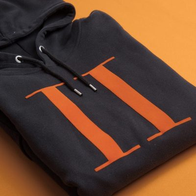 A new season calls for a new Encore Hoodie and this time in a bold black and orange combo. #hoodie #lesdeux