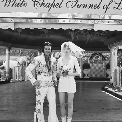 BURNIN' LOVE 🔥❤️🕊 The Royale Blazer Dress.