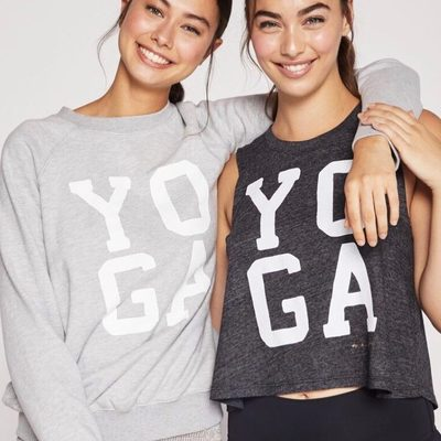 You and your yoga buddy probably need these 🙏 Link in bio to shop new arrivals #yoga #raiseyourvibration #spiritualgangster