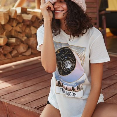 Stay wild moon child 🌙  Tap photo or link in bio to shop the latest #trusttheuniverse #spiritualgangster