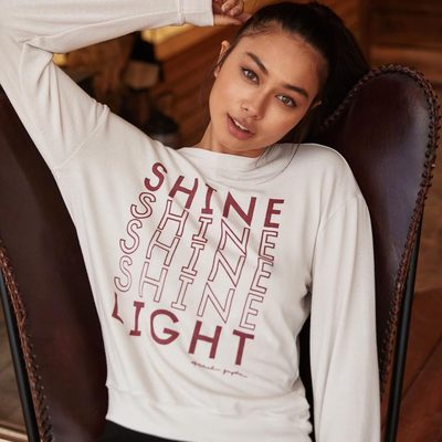 Be the light 💡Link in bio to shine even brighter  #shinelight #weareallconnected #spiritualgangster