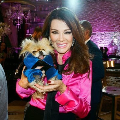 """Reality TV has created a legion of """"stars"""" who are living out the curious 21st-century condition of being famous for being regular people. And @bravotv's #VanderpumpRules is its perfect zenith, a show about the proverbial antithesis of famous people: waiters. @lisavanderpump, the Joan Collins–esque English transplant, restaurateur, and star of @therealhousewivesofbh is the matriarch of the incestutous staff at SUR in West Hollywood. Tap the link in our bio to see what happened when Vogue spent 48 hours with Vanderpump Rules. Photographed by @arnold_daniel"""