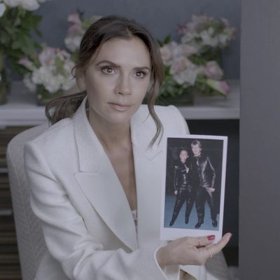 Evolving her style from Spice World to New York Fashion Week was no small task, and over the past two decades @victoriabeckham has served up plenty of iconic fashion moments. Watch her reflect on those memorable looks here–full video in the link in our bio. Director @ggggbone DP @cinematologist Gaffer @cinemahebrero Sound @phforandafter Editor @savannafair
